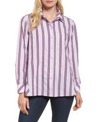 Nordstrom - Oversize Stripe Shirt - Lyst
