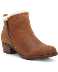 Lucky Brand - Basel Faux Fur Lined Bootie - Lyst