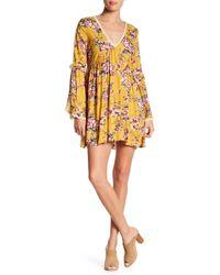On The Road - Garett Floral Print Bohemian Dress - Lyst