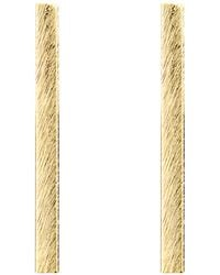 Moon & Lola - Lenox Brushed Bar Drop Earrings - Lyst