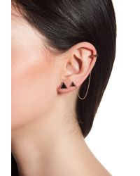 House of Harlow 1960 - Native Legend Triangle Stud Earrings Set With Single Cuff - Lyst
