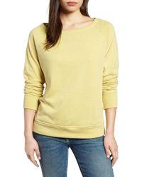 Gibson - Slouch Sweatshirt (regular & Petite) - Lyst