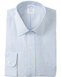 Brooks Brothers   No-iron Regent Slim Fit Dress Shirt   Lyst