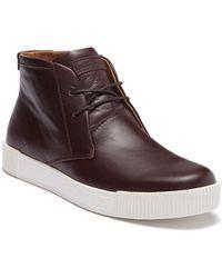 Michael Bastian - Lyons Leather Chukka Sneaker - Lyst