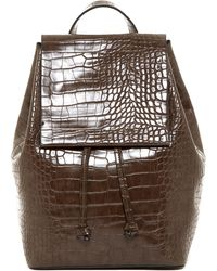 French Connection | Alana Croc Embossed Backpack | Lyst