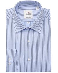 Ben Sherman - Dobby Stripe Tailored Slim Fit Dress Shirt - Lyst