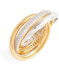 Nadri - Trinity Pave Ring - Size 6 - Lyst