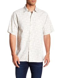 Tommy Bahama - Geo Chaser Original Fit Short Sleeve Shirt - Lyst