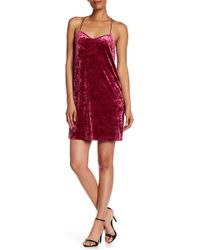Cece by Cynthia Steffe - Mia Crushed Velvet Dress - Lyst