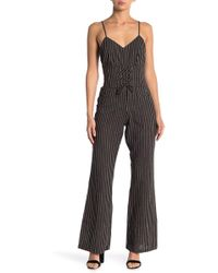 6415a1af0d9f Lyst - Cupcakes And Cashmere Jaiden Jumpsuit in Black