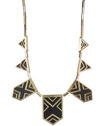 House of Harlow 1960 - Classic Caged Station Necklace - Lyst