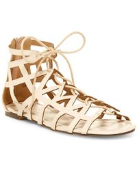 In Touch Footwear - Vince Gladiator Sandal - Lyst