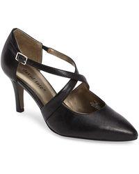 David Tate - Jojo Crisscross Pump - Lyst
