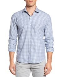Culturata - Slim Fit Plaid Sport Shirt - Lyst
