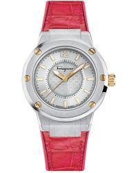 Ferragamo - Women's F-180 Swiss Quartz Watch, 33mm - Lyst