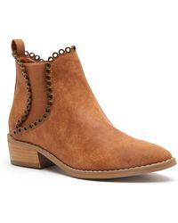 Matisse - Zella Faux Leather Bootie - Lyst