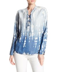 Tina + Jo - Demi Lace-up Top - Lyst