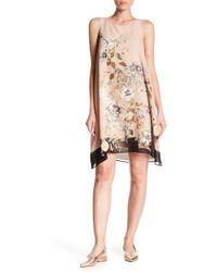 Max Studio - Printed Tank Trapeze Dress - Lyst