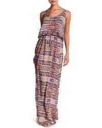 Maaji - Florid Sherbet Maxi Cover Up Dress - Lyst