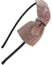 Tasha - Sparkle Bow Headband - Lyst