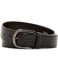 A.Testoni - Nido Leather Ape Belt - Lyst