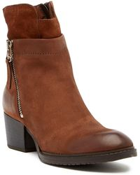 Miz Mooz - Thayer Suede Layered Boot - Lyst