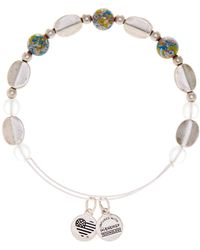 ALEX AND ANI - Cosmo Bead Adjustable Bangle - Lyst