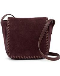 Lucky Brand - Nela Small Suede Crossbody Bag - Lyst