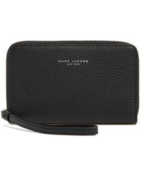 Marc By Marc Jacobs - Pike Place Leather Zip Phone Wristlet - Lyst