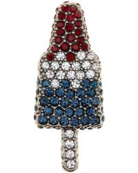 Marc Jacobs - Pave Popsicle Brooch - Lyst