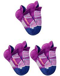 Feetures - Elite Light Cushion No Show Socks (medium) - Set Of 3 - Lyst