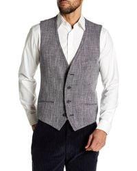 Vince Camuto - Scratch Weave Vest - Lyst