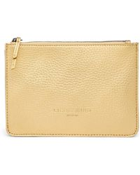 Liebeskind Berlin | Matte Metallic Leather Zip Pouch | Lyst