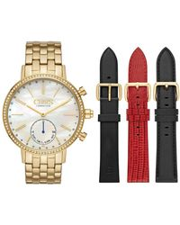 Chaps - Whitney Interchangeable Crystal Bracelet Hybrid Smart Strap Watch, 42mm - Lyst