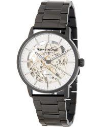 Kenneth Cole - Men's Skeleton Dial Bracelet Watch, 41mm - Lyst