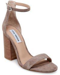 dd3fe39e432f Lyst - Steve Madden  lavii  Platform Sandal (women)