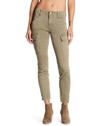 J Brand - Mid Rise Houlihan Skinny Cargo Pants - Lyst