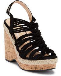 In Touch Footwear - Sheri Wedge Platform Sandal - Lyst