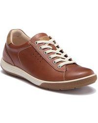 Ecco - Chase Ii Tie Leather Sneaker - Lyst