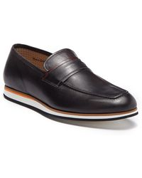 Bacco Bucci - Alou Leather Loafer - Lyst