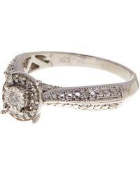 Savvy Cie Jewels - Diamond Pave Ring - 0.18 Ctw - Lyst