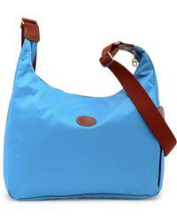 Longchamp - Le Pliage Nylon Hobo - Lyst