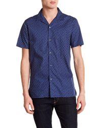 JB Britches - Free Short Sleeve Trim Fit Shirt - Lyst