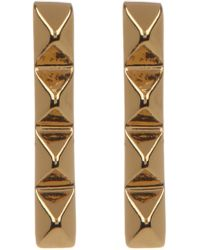 Trina Turk - Pyramid Bar Earrings - Lyst