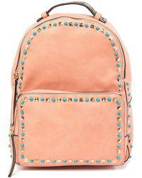 Urban Expressions - Posh Embellished Vegan Leather Backpack - Lyst
