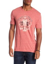 Lucky Brand - Royal Flush Tee - Lyst