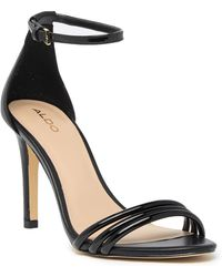 ALDO - Fabbrico Heeled Ankle Strap Sandal - Lyst