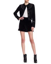 Sugarlips - Cecile Velvet Shorts - Lyst