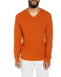 Calibrate - V-neck Wool Blend Sweater - Lyst