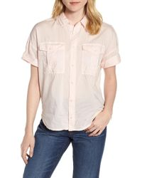 J.Crew - Utility Pocket Shirt - Lyst